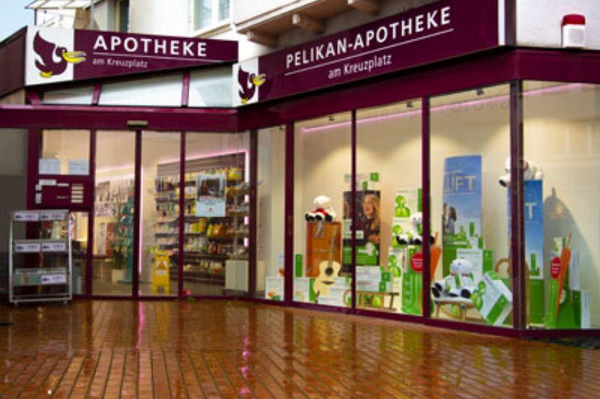 Pelikan-Apotheke am Kreuzplatz
