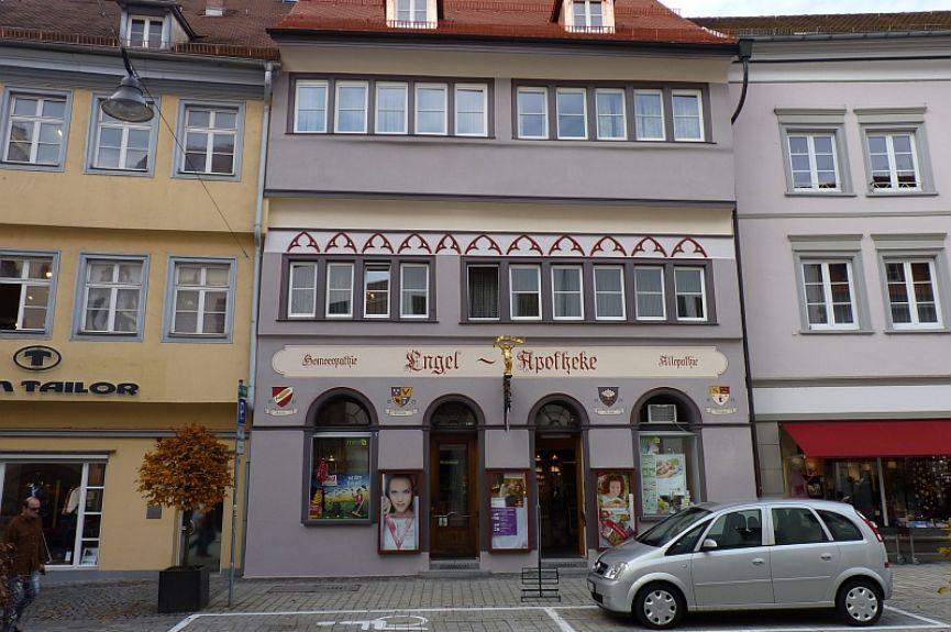 Engel-Apotheke, Heinrich Bansshaf e. Kfm.