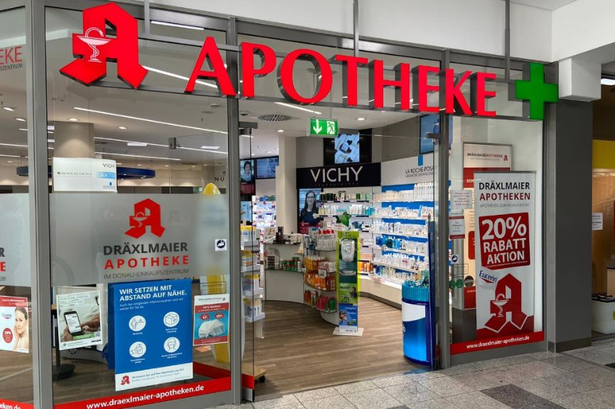 Apotheke im Donau-Einkaufszentrum